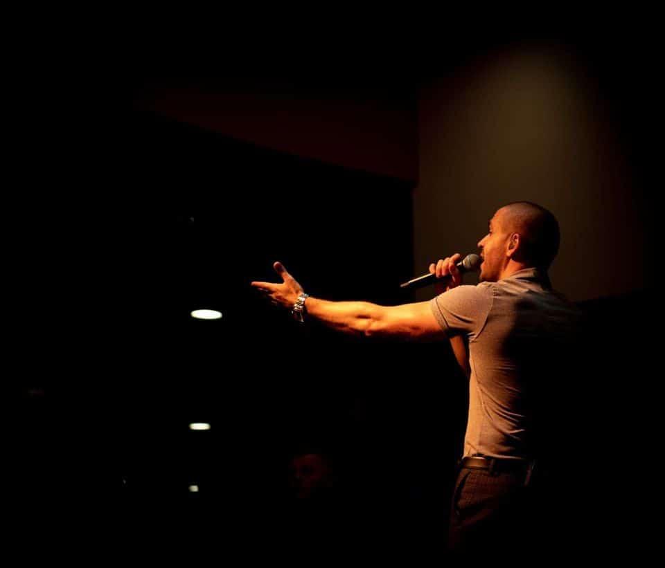 shayne ward performing for bjs bingo